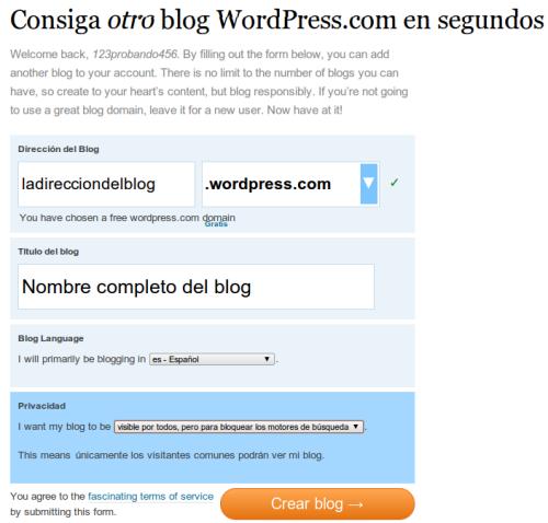 Abrir blog